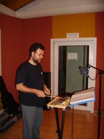 Cristian col metallofono